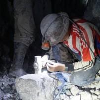 セロリコ銀山で働く人たち