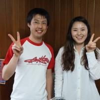 韓国のソウルに着きましたよ〜