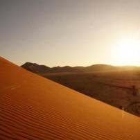 ナミブ砂漠へ向けてレッツGO!